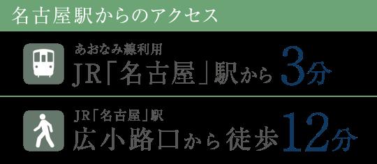 名古屋駅からのアクセス あおなみ線利用