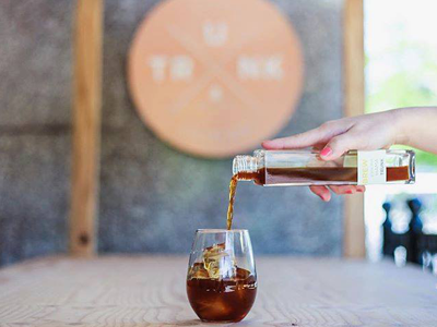 TRUNK COFFEE STAND